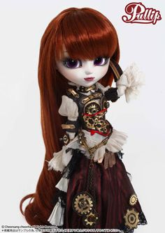 This would make a really cute gift for a flower girl at a Steampunk wedding.
