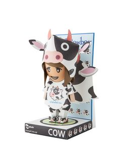 [POLLYSTORY] PAPERTOY EGGPLUSTIC Animal lineup Cow  #Pollystory