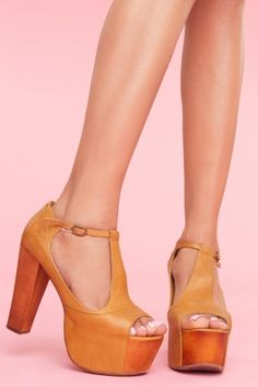 Jeffrey Campbell  Foxy Platform - This is just wrong. Why don't I own these?!? OMG