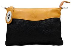 LaGaksta Bello Handmade Italian Soft Leather Crossbody Shoulder BagBlackLeather ** Learn more by visiting the image link.