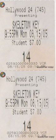 Skeleton Key (5/15/2005)