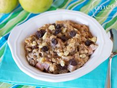 Crockpot Pear Oatmeal