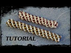 Video:  Russian Spiral.  #Seed #Bead #Tutorials