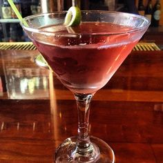 A cosmo from Casa Nueva! Perfect Friday evening treat.