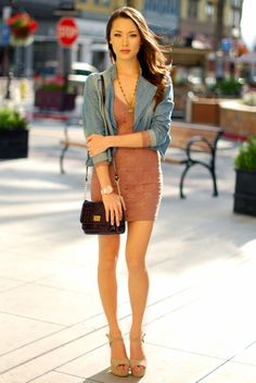 New dress - Charlotte Russe, jacket - Forever 21, shoes - Steve Madden, purse - Aldo, watch - NY.