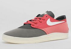 Nike SB Lunar One Shot – Black – Game Red