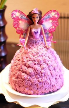 Michelle Party of 5 : DIY Barbie Cake under $30!