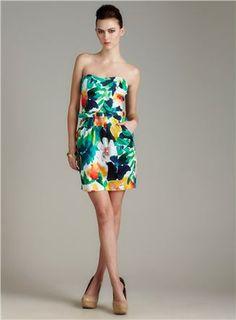 Floral Tube Cotton Dress $29.99
