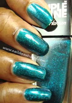 Sally Hansen Triple Shine Nail Color, Sparkling Water | Nails Beautiqued