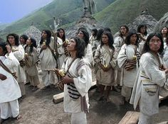 Indigenous Colombians in Sierra Nevada, Colombia. By Heather S Herrera of Mexico City