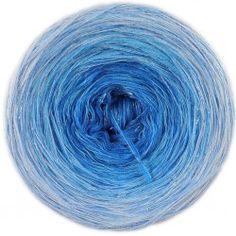 Blauwe maan met glitter