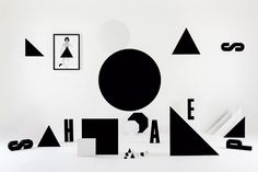 """The Bauhaus's abstract, angular and geometric patterns, Wim Crouwel's innovative grid-based layouts and typographic systems, the """"Black Square"""" by Russian painter and art theoretician Kazimir Severinovich Malevich, avant-garde movements such as Cubo-Futurism, : these are just a few of the things some of us may spot behind the holographic geometries designer Jamie Bruski Tetsill"""
