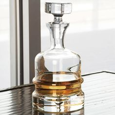 Global Views Traditional Decanter Clear @Zinc_Door #gifts $98.00