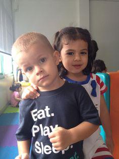 William and his girlfriend Mali