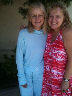 Lisa Capozzi and Willow Hale after Mass for my mother 2012
