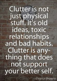 Clutter is more than physical stuff!