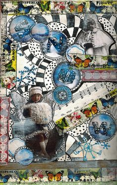 Becky ~ Let it Snow Journal Page 7   Flickr - Photo Sharing!