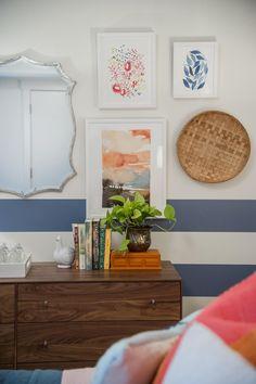 Artwork in Blog Cabin's Guest Bedroom