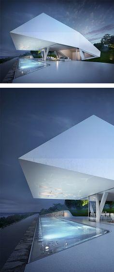 Futuristic Villa Miami Modern House Designs Building Architecture Design Directory Buildings futuristic architecture villa f with impressive futuristic Architecture Design, Minimal Architecture, Futuristic Architecture, Beautiful Architecture, Residential Architecture, Contemporary Architecture, Chinese Architecture, Architecture Office, Contemporary Decor