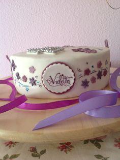 Violetta's birthday cake.