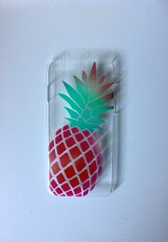 Coloful Pineapple iPhone 6 Case by trompo on Etsy