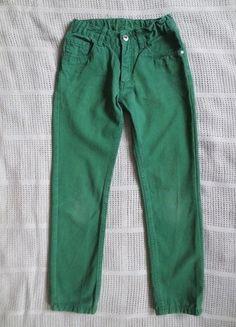 Kaufe meinen Artikel bei #Mamikreisel http://www.mamikreisel.de/kleidung-fur-jungs/jeans/34895729-5-pocket-hose-fur-jungs-grun-gr-134