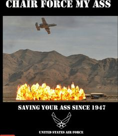 We love the AirForce since Sept. 18, 1947!