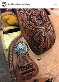Truth Saddlery Saddles, Tack, Tattoos, Leather, Manualidades, Roping Saddles, Tatuajes, Tattoo, Tattos