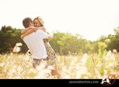 Romantic & Modern Engagement Portraits in Las Colinas Texas | Dallas Wedding Photographer Blog — Allison Davis Photography