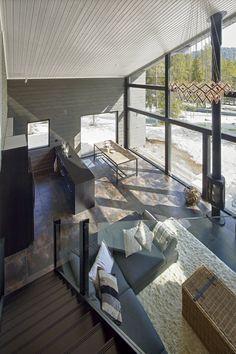 Villa Ruka in Finland, by Honka log homes.