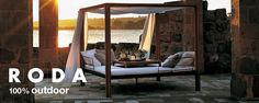 RODA furniture collections: design and live the outdoors