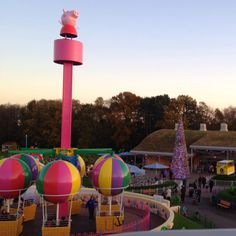 OMG! I didn't know that they actually made a Peppa Pig World. Corbin would love this place.. unfortunately it's all the way in the UK. :(