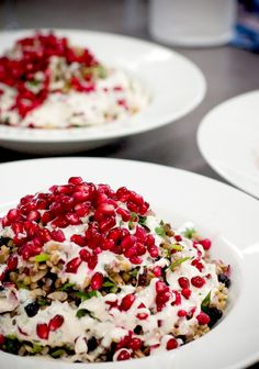 New obsession: Cypriot grain salad.  Had this at George Calombaris' Hellenic Republic this weekend and was determined to find the recipe.  Here it is: http://ten.com.au/the-circle-moussaka-and-cypriot-grain-salad.htm