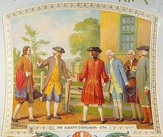From June 19 to July 11, 1754 twenty-one representatives of New York, Pennsylvania, Maryland, Massachusetts, Rhode Island, Connecticut, and New Hampshire, as well as representatives from the Six Iroquois Nations, met in Albany, New York.