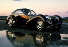 The Most Expensive Car Bugatti Atlantic 1936 Sell for More Than $30 million USD, the most expensive car in the world.