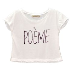 Remera Poeme - $215,00 | Fashion Palace