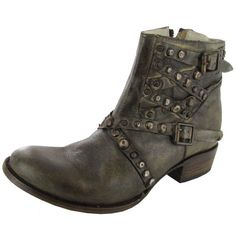 Freebird By Steven Womens Halo Distressed Leather Bootie - http://shoes.goshopinterest.com/womens/boots/ankle/freebird-by-steven-womens-halo-distressed-leather-bootie/