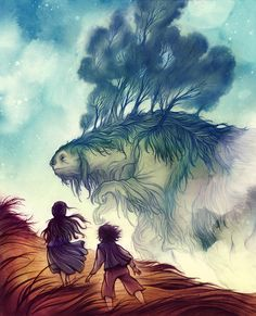 Cory Godbey, one of my absolute favourite illustrators of the moment. Just so whimsical and beautiful.