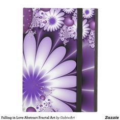 Falling in Love Abstract Fractal Art iPad Air Covers