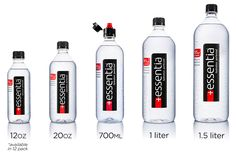 Essentia Alkaline Bottled Water is distributed in retailers across the United States. Search by zip code to find Essentia Water near you! High Alkaline Water, Alkaline Water Bottle, Drinking Alkaline Water, Alkaline Water Benefits, Agua Mineral, Water Branding, Healthy Water, Water Bottle Design, Aqua