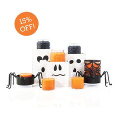 September 15% OFF Customer Special BOO!  www.finestcandles.ca