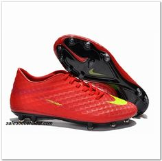 outlet store 034f0 a6afe Nike Hypervenom FG 2014 Mens Acc Ibrahimovic Red Yellow  61.00 Adidas  Soccer Shoes, Soccer Boots