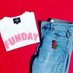 Funday Cropped Tee valfre.com #valfre