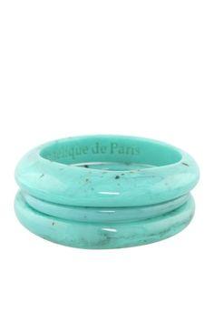 Turquoise Bangle Set
