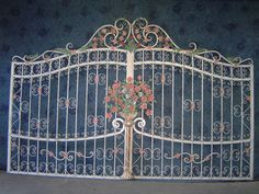 My wrought iron work