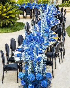 "LEBANESE WEDDINGS's Instagram post: ""Spreading Peace & Love 💙💙 ___________________ ▪︎Wedding planner and designer : @myeventdesign @majedakassirbisharat  ____________________…"" Wedding Table Setup, Lebanese Wedding, Kind Of Blue, Blue Wedding, Wedding Bells, Peace And Love, Wedding Planner, Table Decorations, Instagram Posts"