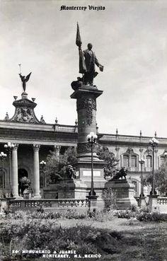 Monumento a Juarez en Monterrey Nuevo Leon Mexico