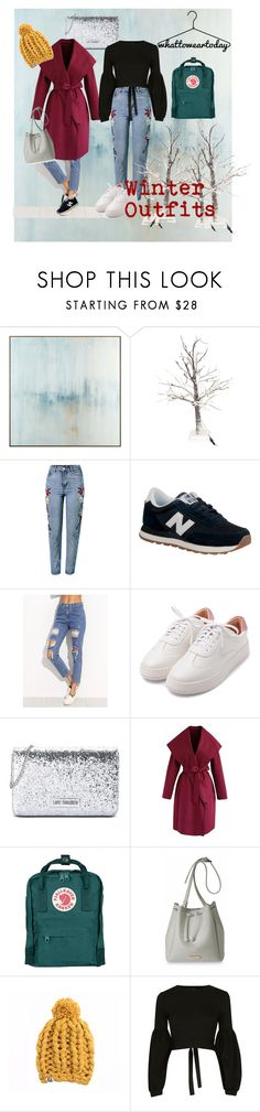 """Winter wonderland :)"" by thomem-16 ❤ liked on Polyvore featuring John-Richard, WithChic, New Balance, Love Moschino, Chicwish, Fjällräven, Katie Loxton, Topshop, ootd and WhatToWear"