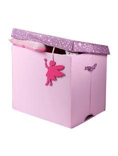 Luxury Gro e Aufbewahrungsbox f r Kinder ROSA