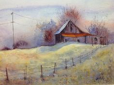 Judy Mudd - Work Zoom: Cool Morning Shadows